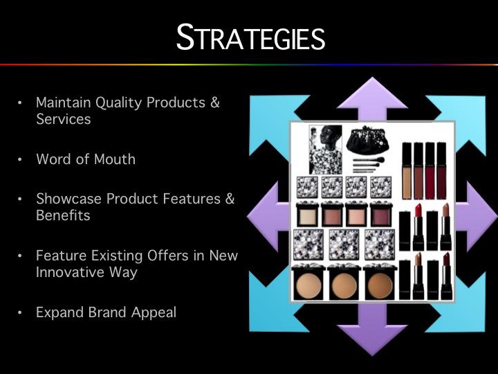 mac cosmetics target market analysis
